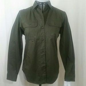 LAUREN RALPH LAUREN NWOT'S Green Shirt Size  PM